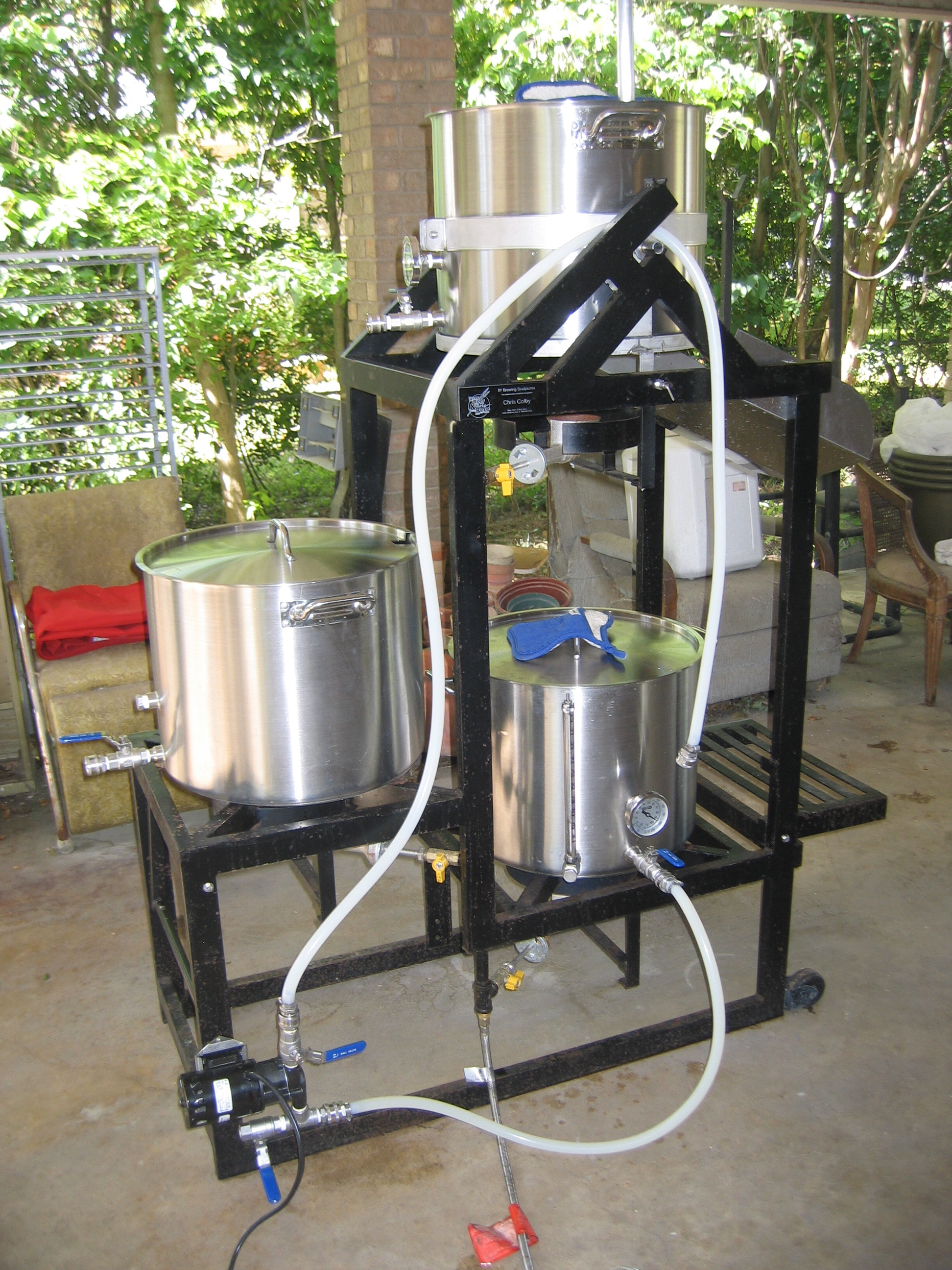 Brew Rig Home Brewing Stands Homebrew Stands Home