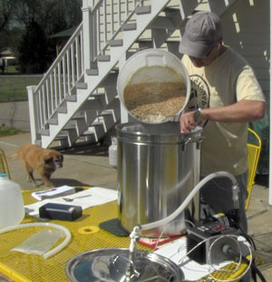 A 30-minute boil makes for a shorter brew day.