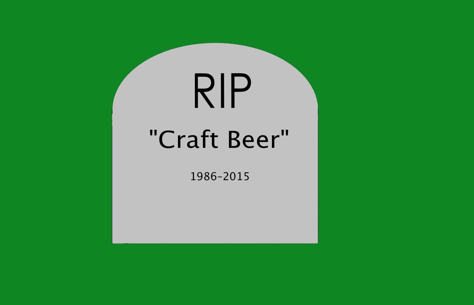 It S Time To Stop Using The Term Craft Beer Part I Of Iii