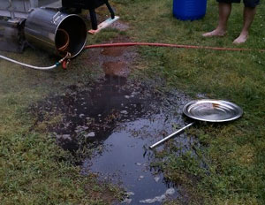 Listener Ryan from Massachusetts learned not to pull the chiller hose that extra five feet.